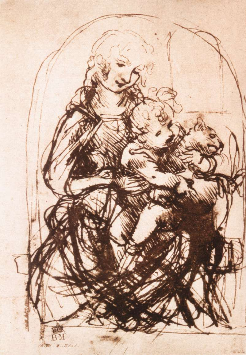 Leonardo_da_vinci_Study_of_the_Madonna_and_Child_with_a_Cat.jpg